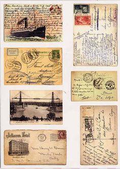 Nuestras MiniaturaS - ImprimibleS: Postales y sobres