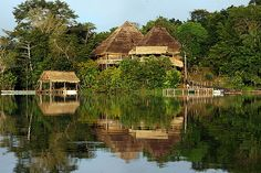 Winner of the Ecotourism Award from the World Congress on Tourism and the Environment, La Selva Amazon Ecolodge sits high on Lake Garzacocha.