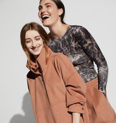 @ellajanee and @lolavan wear the new Zaylee Hoodie and Pant in Burnt Peach from the latest SPORT Release. Available in strictly limited numbers online and in select boutiques.   #CAMILLAANDMARCSPORT #FUTURENOW #CAMILLAANDMARC