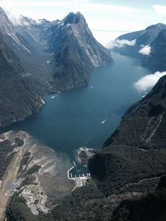 #Milford Sound, NZ,  Great photo opportunities with every flight