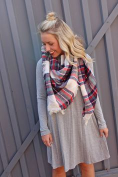 Long sleeve swing dress-more colors