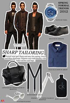 Spring Summer Menswear Trends 2012