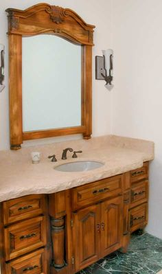Custom Bathroom Vanities York Region repainted and distressed bathroom vanity | my style - home decor