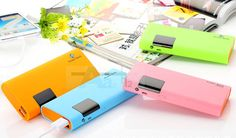 50000mAh LCD Digital Dual USB Power Bank External Battery Charger For iPhone6 5S #New