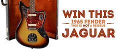 Sign up and win the 1965 Fender Jaguar Giveaway on Reverb.com!