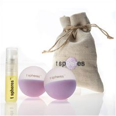 Peace & Quiet T Spheres 45 mm aromatherapy massage balls