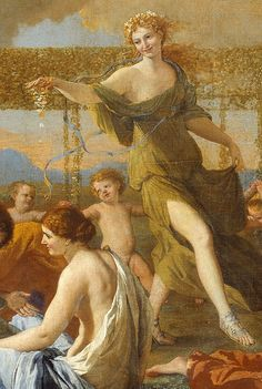 Nicolas Poussin. Detail from The Empire of Flora, 1631.