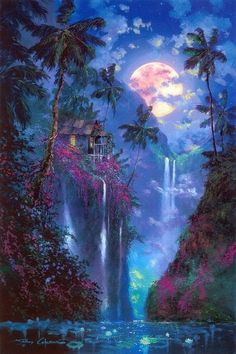James Coleman - Mystical places - as mentioned before - we dream of these in order to escape & find true meaning & mystery. Some believe that a mystical place can also be a representation of the Higher Self or Godhead trying to get our attention. Fantasy Artwork, Fantasy Art, Anime Scenery, Fantasy Landscape, Mystical Places, Beautiful Nature, Beautiful Landscapes, Landscape Art, Beautiful Art