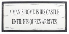 A Man's Home is his Castle ...