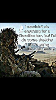 "YES... yes, I would! Pp: ""Morally Flexible according to Situational Ethics ;)"" Army Humor, Military Humor, Military Veterans, Military Life, My Marine, Marine Corps, Military Quotes, American Soldiers, Usmc"