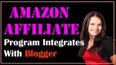 amazon blogspot http://internetmarketingexpert.info/ Amazon Affiliate Program Integrates With Blogger VIDEO: https://www.youtube.com/watch?v=ktMkPE1dZpM