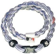 "*NEW* Phiten 22/"" Tampa Bay Rays Titanium Multi Sport Necklace X30"