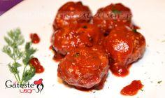 Chiftelute marinate on http://www.gatesteusor.ro