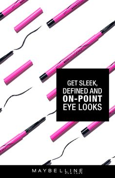 The Master Precise Skinny Gel pencil from Maybelline delivers an ultra-smooth line that lasts all day. Achieve mistake-proof application thanks to the 1.8mm micro-tip and smooth gel intensity.