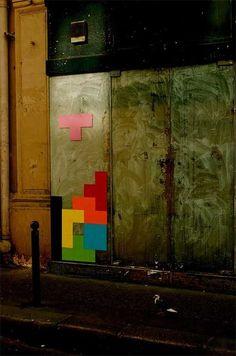 Street Tetris - Paris, France