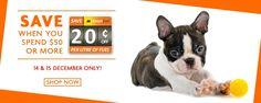 Bargain - Save $20 per Liter of Fuel - Spend $50 or More @ Petpost