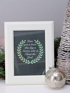 21 Free Christmas Printables - Just a Girl and Her Blog