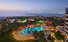 Beautiful night! Le Royal Meridien Beach Resort & Spa - Hotels | Travel + Leisure (from http://tandl.me/2x8w3Gs) // Photo: Le Meridien //