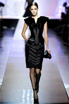 Celebrities Who Wear Use Or Own Jean Paul Gaultier Fall 2009 Couture Futuristic Dress Also Discover The Movies TV Shows And Events Associated With