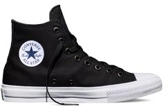 When it comes to iconic American gym shoes, the conversation should always start with the Chuck Taylor All Star from Converse. Almost 100 years since the original debuted, a classic is re-imagined with the Chuck Taylor All Star II. Moda Sneakers, Sneakers Mode, Sneakers Fashion, Converse All Star, Converse Sneakers, Vans, Boys Converse, Black Converse, Navy Blue Sneakers