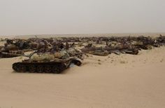 7 Most Incredible Tank Graveyards on Earth