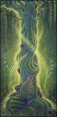 DENDROPSYCHE [sustantivo] El Alma dentro de un árbol. Si usted es bastante sensible, usted puede sentirlo.