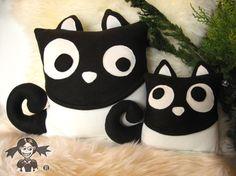 Cojines de gatos amorosos y bonitos ¡nos encantan!