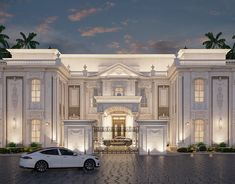 House Arch Design, House Outside Design, Village House Design, Bungalow House Design, Classic House Exterior, Classic House Design, Modern Exterior House Designs, Pool House Plans, Model House Plan