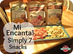Simply 7 Snacks #sponsored #giveaway