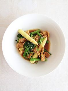 what caroline cooked: Sesame Lemon Chicken with Ginger