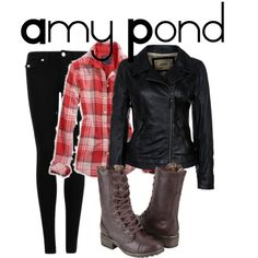 """""""Amy Pond #1"""" by nerdgirl2therescue on Polyvore"""