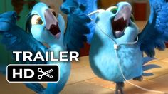 Rio 2 Official Trailer #1 (2014) - Jamie Foxx Animated Sequel HD http://youtu.be/leJuOObuCxM