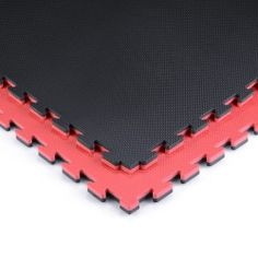 Phantom Athletics Puzzle Mat - 1x1m - Black/Red