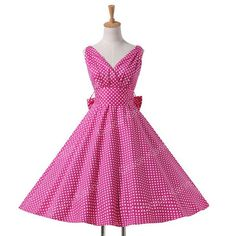 Belle Poque Womens Summer Dresses 2018 Women Maggie Tang Robe Vintage Retro Pin Up Swing Polka Dot Tea Rockabilly Dress Vestidos Vintage Retro, Vintage Party Dresses, 50s Dresses, Cotton Dresses, Plus Size Dresses, Casual Dresses, 50s Vintage, Dress Vintage, Cheap Dresses