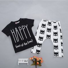 Amazon.com: 2pcs Infant Kids Baby Boys Girls Outfits T-shirt Tops+Pants Summer Clothes Sets: Clothing Sale: $7.99 & FREE Shipping