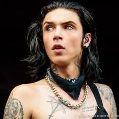 Hey, I found this really awesome Etsy listing at https://www.etsy.com/listing/239137230/andy-biersack-warped-tour-2015-print