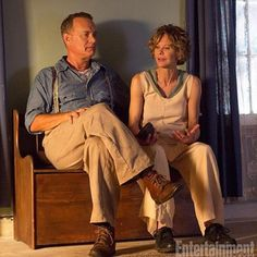 Here is a picture from nee Tom Hanks movie Itacha directed by Meg Ryan as we…