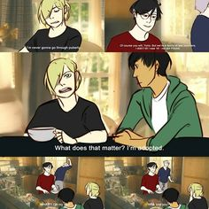 Yes... Yurio, how did you know you were adopted?..