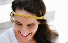 Ravelry: The Easy Braided Headband pattern by Davina Choy