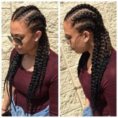 STYLIST FEATURE| Love these #GoddessBraids styled by #BatonRougeStylist @VBabyyyy_❤️ Easy, breezy vacation hairstyle So cute #VoiceOfHair ________________________________ What's your style profile? Find your look in our eBook! Visit VoiceOfHair.com to get it ========================= Go to VoiceOfHair.com ========================= Find hairstyles and hair tips! =========================