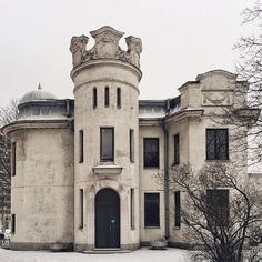 Here's the astonishing example of Russian art nouveau architecture - the mansion of D. Art Nouveau Architecture, Baltic Sea, Russian Art, One In A Million, Beautiful Space, Finland, Saint Petersburg, Louvre, Mansions