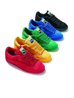Addicted to all these Puma Suede Eco-Tonal Pack I want the blue soooo bad!!!