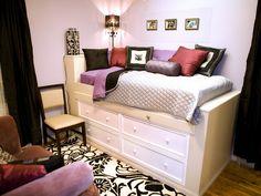 Crear una habitación adulta para una niña