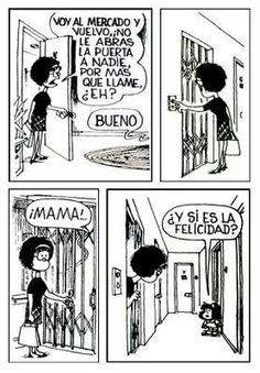 mafalda by jerry Bd Comics, Funny Comics, Mafalda Quotes, Frases Humor, Humor Grafico, Art Graphique, More Than Words, Spanish Quotes, Amazing Adventures