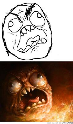 sam spratt - the evolution of rage/fffffuuuuuuu hahauahau foda demais!