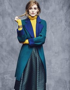 Olivia Palermo for Max&Co. Fall 2015