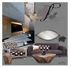"""Shades of Late October"" by eyesondesign ❤ liked on Polyvore featuring interior, interiors, interior design, home, home decor, interior decorating, Threshold, interiordesign and TastemastersDesignGroup"