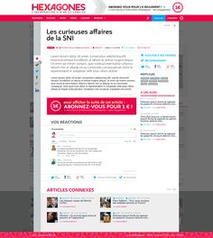 Hexagones.fr - article