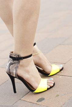 JustFab Strap Stilletos