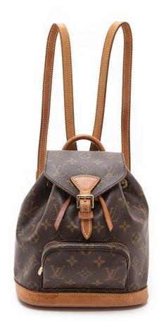 3413979fd74b info  ashleesloves.com  WGACAVintage  Vintage  LouisVuitton  LV  Monogram   Mini  Backpack  designer  Handbag  fashion  style